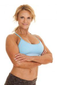 in shape woman
