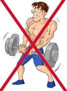 weights straining