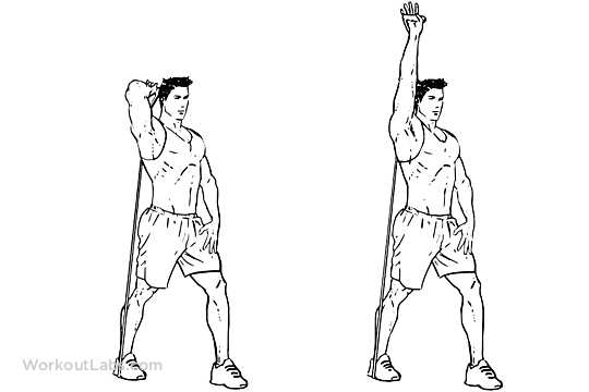 one arm raise