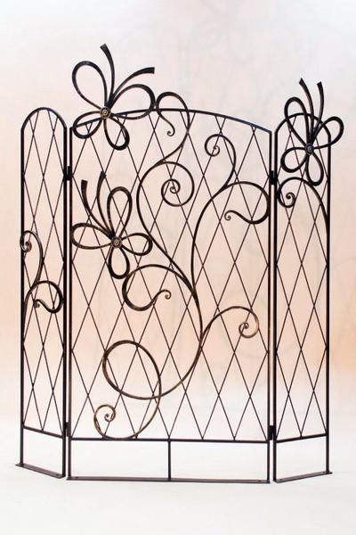 Кованая шпалера-ширма садовая ПР-12-1500 купить дешево ...