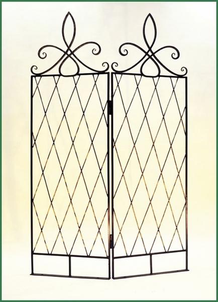 Кованая шпалера-ширма садовая ПР-21-1200 купить дешево ...