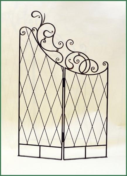 Кованая шпалера-ширма садовая ПР-22-1200 купить дешево ...