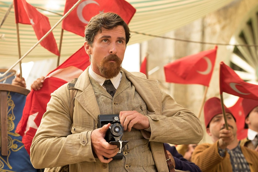 Christian Bale as reporter Chris Myers in the promise