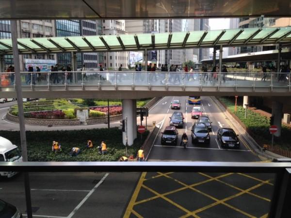 Hong Kong Central, January 2015. Photo by Ellery Biddle.