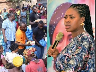 Meet Popular Nigerian Prophetess, A Multidimensional Philanthropist, as she slashed million on less privileged in Nassarawa [Watch Video]