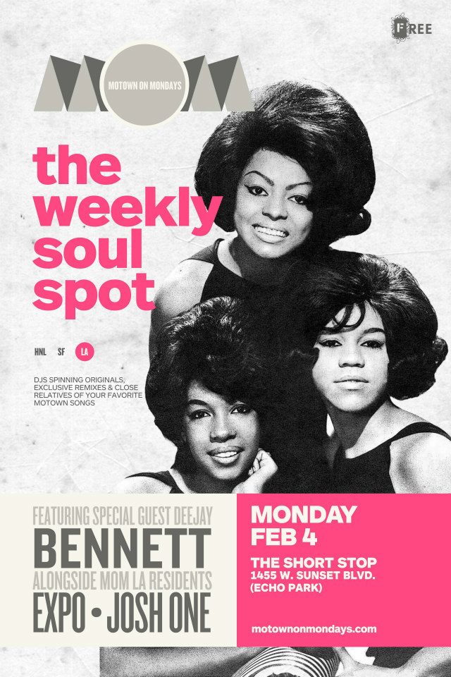 Motown On Mondays, Echo Park