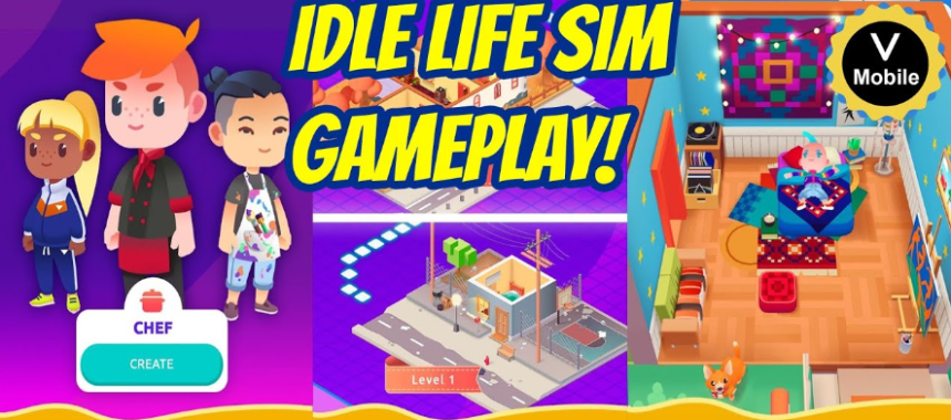 Idle Life Sim for PC