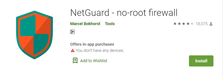 NetGuard for PC