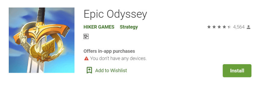 Epic Odyssey for PC