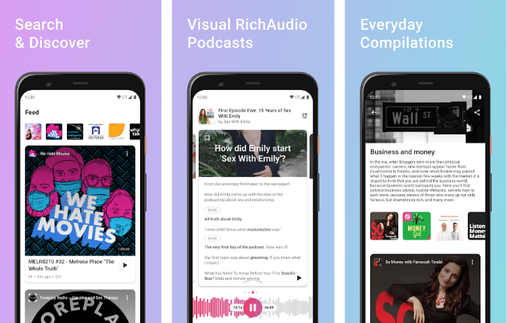 Elision Curated Podcasts for PC