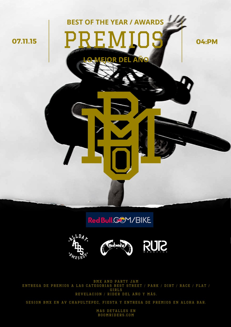 flyer premios boom dorado-logos1