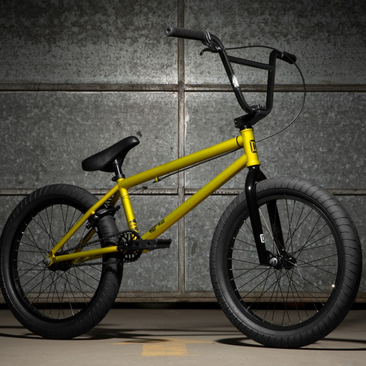 launch bmx bike amarilla 1