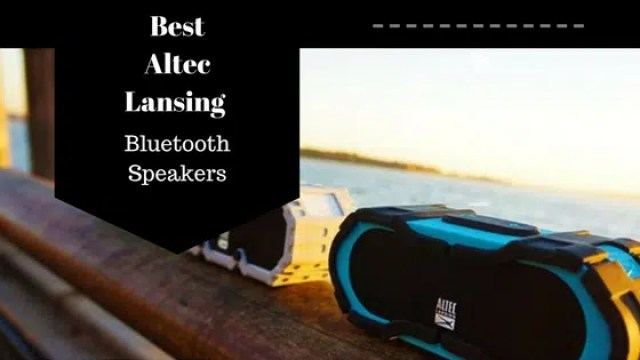 Round up of Altec Lansing Bluetooth Speaker line