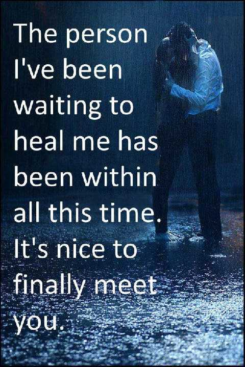 Its Nice To Finally Meet You Sad Love Quotes Boomsumo Quotes