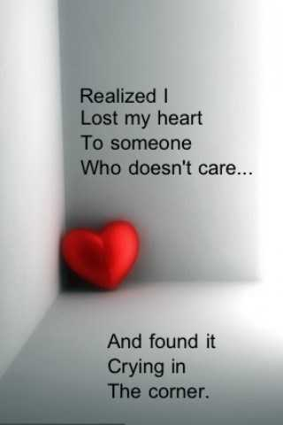I Lost My Heart To Someone Sad Love Quotes Boomsumo Quotes