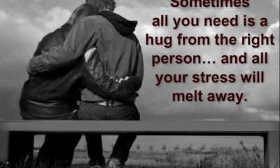 Sometimes All You Need Is A Hug - Love Quotes
