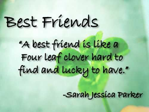 Sweet Friendship Quote
