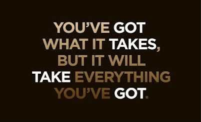 take everything Quote