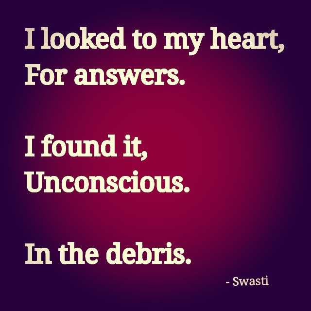 Heart Sayings , I Looked to My Heart