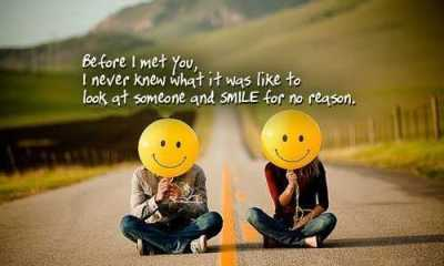 sayings about love relationship advice Someone and Smile for no reason, - relationship quotes