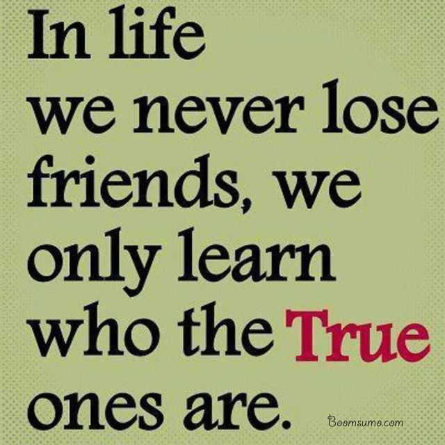 Lovely Best Friendship Quotes Never Lose Friends Learn It True Friends Quotes