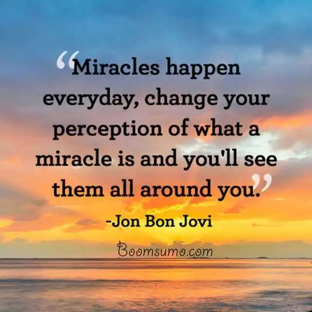 Inspirational Quotes Motivation: Best Inspirational Quotes 'Miracles Happen Everyday, Daily
