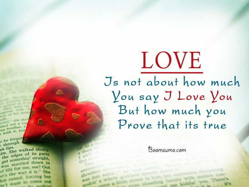Inspirational Good Morning Love Quotes For Her And Him Yen: Did You Say I Love You, Prove That
