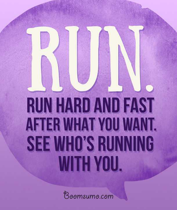 Invaluable Pieces Of Relationship advice Who's running with you quotes on life