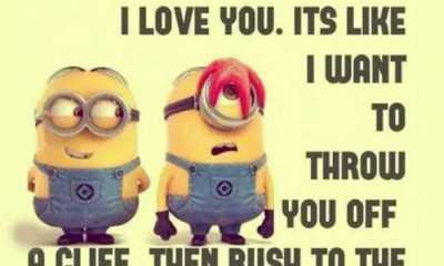 inspirational life quotes 'I love You to throw You cliff, relationship quotes