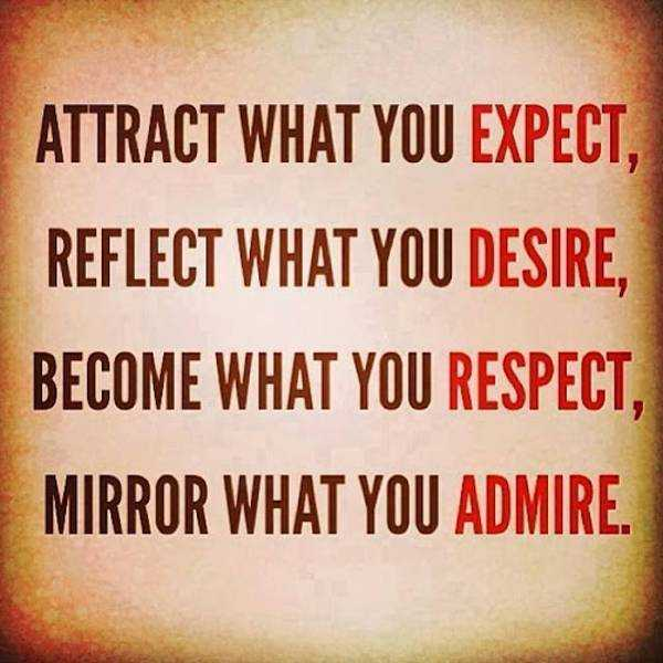 Daily Inspirational Quotes Mirror What You Admire Inspirational Custom Daily Inspirational Quotes