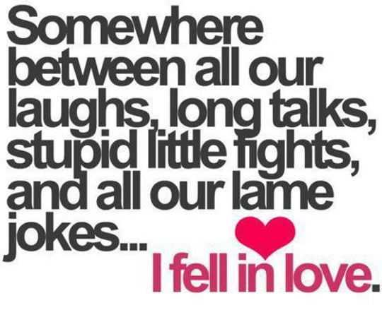Heart Touching Funny Love Quotes Why I Fell In Love Did You Say