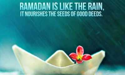 Eid Mubarak quotes Ramadan Sayings Ramadan Is Like The Rain For Good Deeds