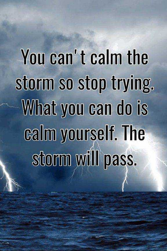 Inspirational Life Quotes Positive Thoughts You Cant Calm When