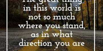 Positive Quotes About Inspirational Sayings What Direction You Are Moving