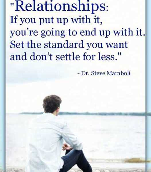 Relationships Quotes Inspirational Sayings Dont Set The Standard