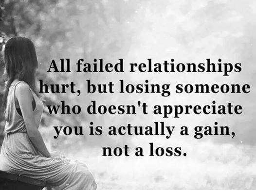 Relationships Quotes Why Failed Relationships Happy One Not A Loss