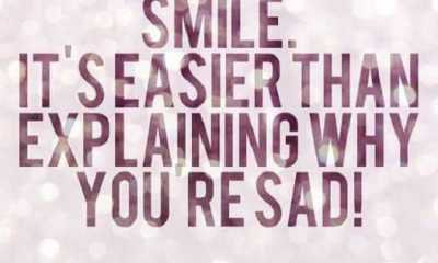 Smile quotes Why You Are Sad Smile heart touching sad quotes about love