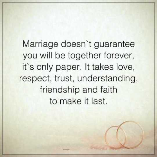 Love And Marriage Quotes Impressive Marriage Quotes About Life Sayings Together Forever It's Not Paper