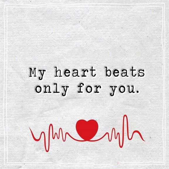 The Best Love Quotes: Best Love Quotes About Love Thoughts My Heart Beats Only