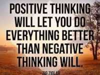 Inspirational Attitude Quotes About Positive Thinking will Do everything