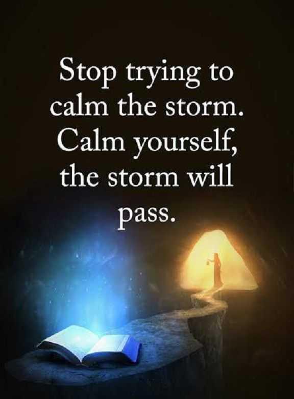Inspirational Life Quotes Words Of Wisdom Calm Yourself