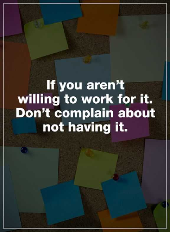 Inspirational Quotes About Life Positive Sayings Dont Complain If