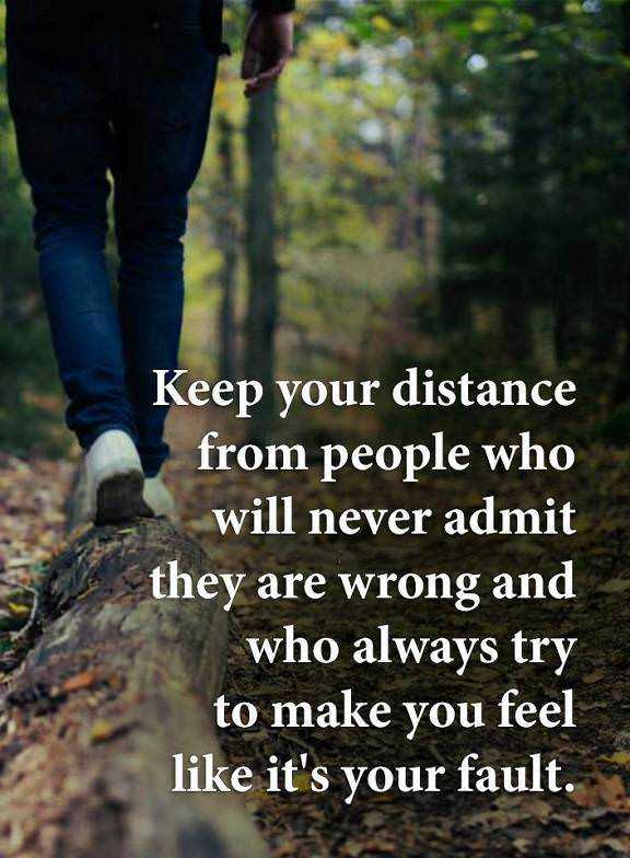 Inspirational life Quotes Keep Your Distance From People Always Argue