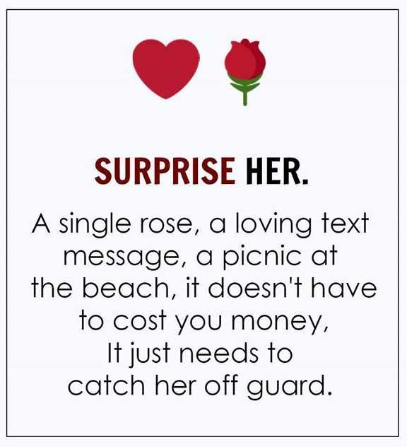 Love Quotes of the Day: Love Sayings \'Surprise her Single ...