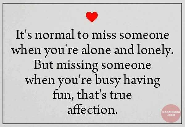 Love Quotes Of The Day When True Affection Failed Not Alone