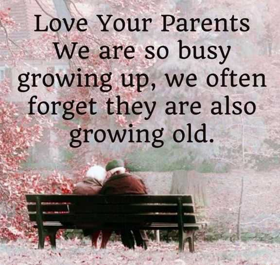 Parents Day Quotes about Love Your Parents Growing Old – Good fathers Quotes About life