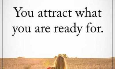 Positive Quotes About life Life sayings What You are Ready, You Attract