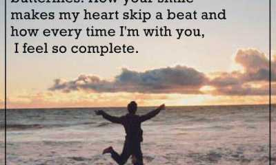 Relationships Quotes How your smile makes my heart skip a beat, Moving On