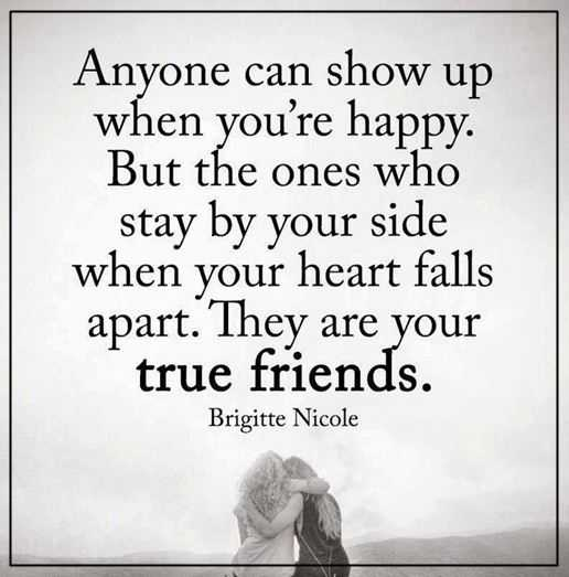 Friends being apart quotes