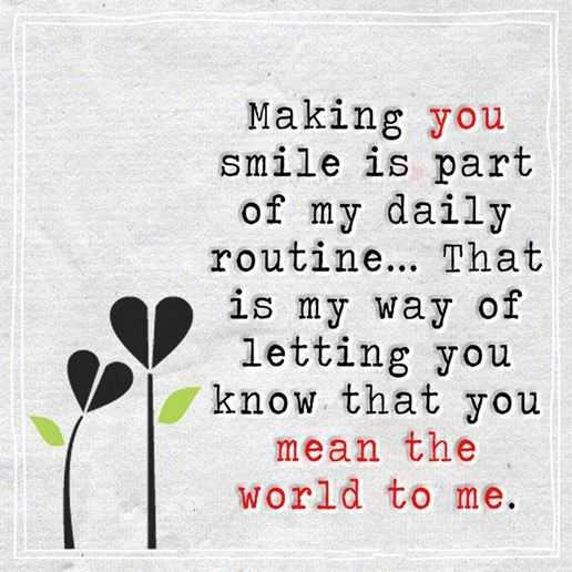 Best Love Quotes: Love Sayings Making You Smile My Daily Routine Why